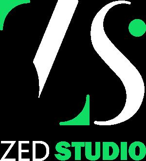 Логотип Zed Studio.